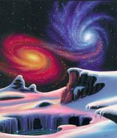 More Twin Galaxies by AlanGutierrezArt