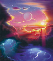 Sunrise by AlanGutierrezArt