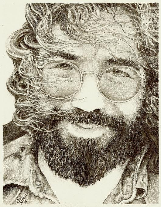 Jerry garcia by Cutshaw1