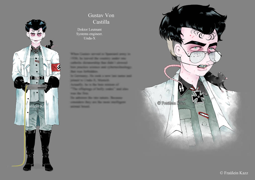 Gustav Von Castilla [Concept art and lore] by Fraulein-Kazz
