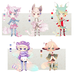 [CLOSED] ADOPT AUCTION 47 - Love PET Boy by Piffi-sisters