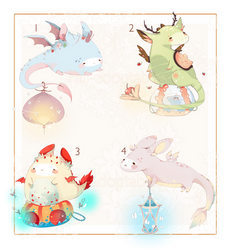 [CLOSED] ADOPT AUCTION 90 - Atupa Dragon by Piffi-sisters