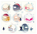 [CLOSED] ADOPT AUCTION 131- BeiBao SPECIAL Holiday by Piffi-sisters