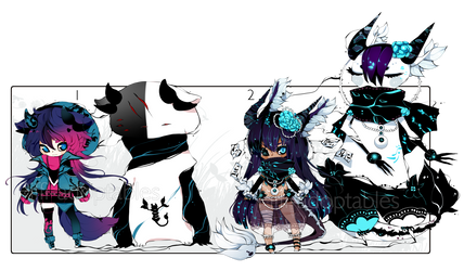 [CLOSED] ADOPT AUCTION 177 - Shadowmonster by Piffi-sisters
