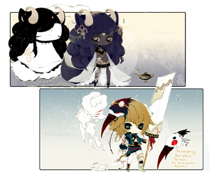 [CLOSED] ADOPT DYNAMIC PRICE 264 - Shadowmonster by Piffi-sisters