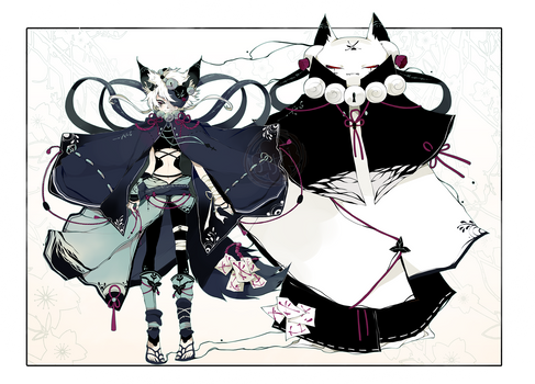 [CLOSED] ADOPT DYNAMICPRICE 280 - Shadowmonster by Piffi-sisters
