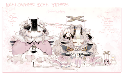 [CLOSED]ADOPT DYNAMIC PRICE 349-Doll Shadowmonster by Piffi-sisters