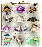 [CLOSED]ADOPT AUCTION 354 - Halloween Piffis by Piffi-sisters