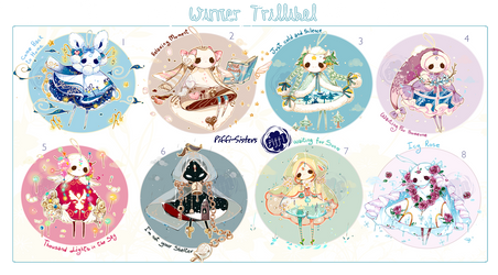 [CLOSED]ADOPT AUCTION 356 - Winter Trillibel by Piffi-sisters