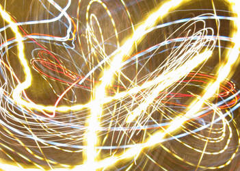 X-mas Lights Camera Toss III by Kahunalilly