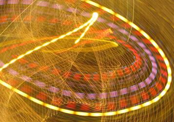X-mas Lights Camera Toss IV by Kahunalilly