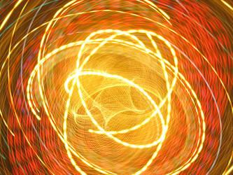 X-mas Lights Camera Toss IX by Kahunalilly
