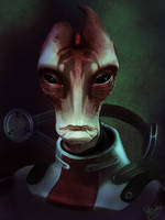 Mass Effect: Mordin Solus by ruthiebutt