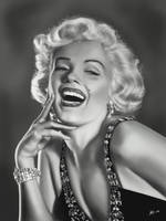 Marilyn Monroe by whyem