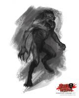 Death Reserve Werewolf by VonKreep1313