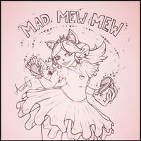 Mad Mew Mew - Doodle by AuraGoddess