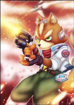 Fox - Super smash bros. Ultimate by AuraGoddess