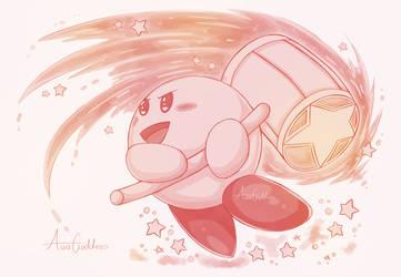 Kirby Sketch - SSB Ultimate by AuraGoddess