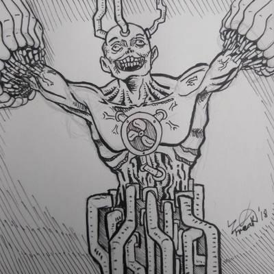 Inktober 2018 #30: Jolt by Ze-Freak