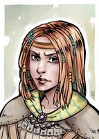 Nalia De'Arnise by Bloodrawen