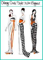 OrangeCrush:Style 1/3:Elegance by mzclark