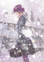 on snow by webang111
