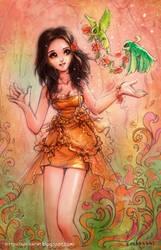 lady by webang111