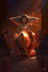 Cleopatra by webang111