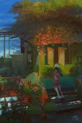 Flowers House by webang111
