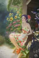 Flowers Coffee Shop by webang111