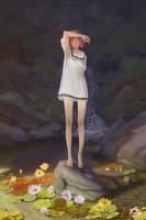 Lotus Pond by webang111