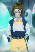 Saiya Suit [vegeta] by webang111