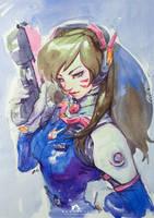Watercolor [#50] D.VA by webang111