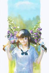 Sky Flower by webang111