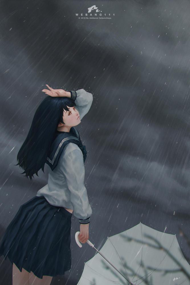 The Rains #3 by webang111