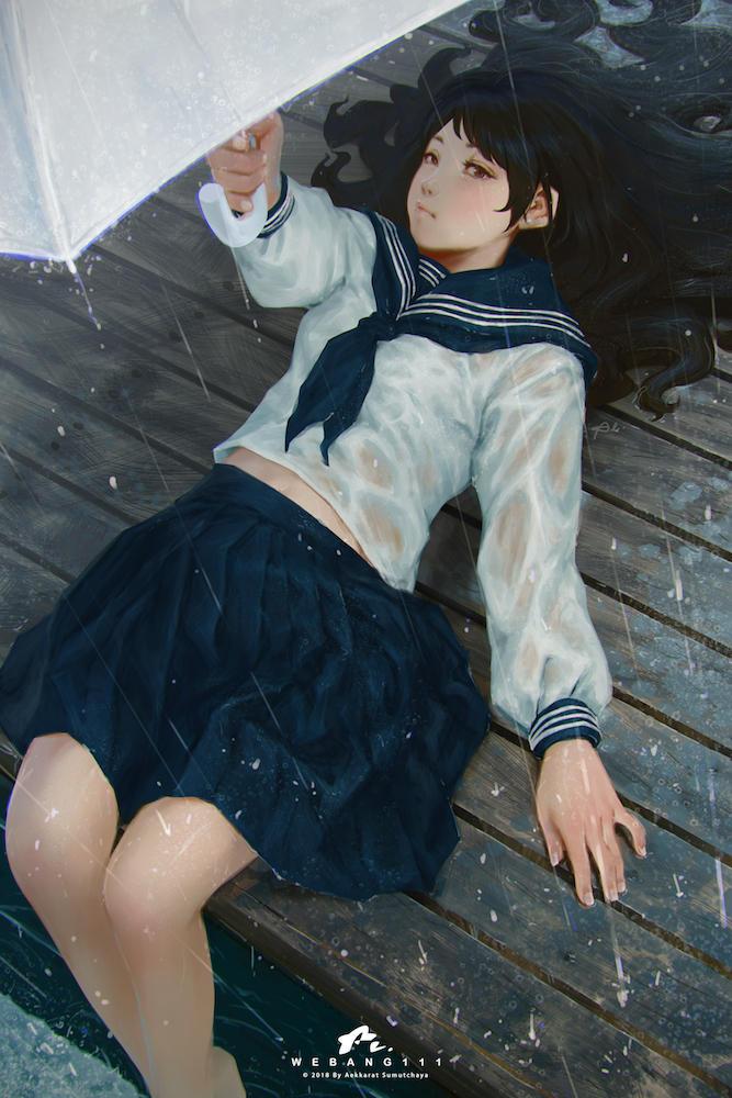 The Rains #4 by webang111