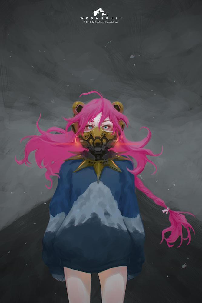 Bear Mask [Transform Emoticon to Character] by webang111