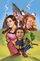 David's family portrait. by Bertuccio