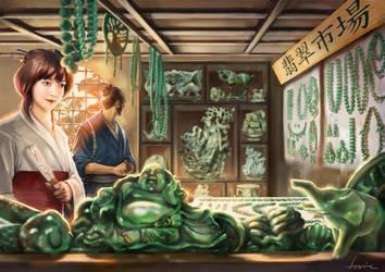 Jade Bazaar by Bertuccio