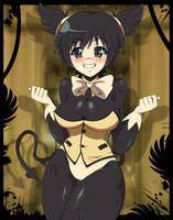 Bendy the Devil|Anime FNIA style| BATIM by Mairusu-Paua