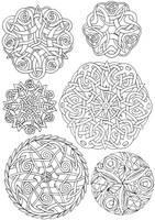 Celtic Circles by dariyan