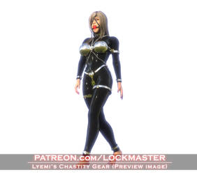 Lyemi's Chastity Gear by DOLL-Forces