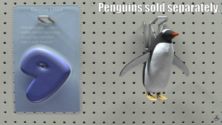 Penguins Sold Separately by EarlColour