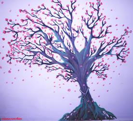 arbol de cerezo by orianasunshine