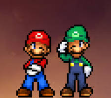 Super Mario Brothers by ValAndy7