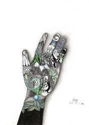 Unreal Hand by Sagadi