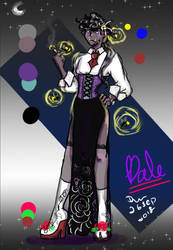 Dale (flower vamp myo approved ) by Phioai