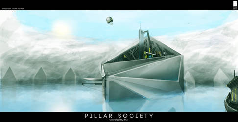 Pillar Society: Speedpaint by FutureFavorite
