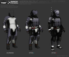 Axeron-recruits variants by FutureFavorite