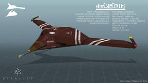 IMAT F36c Missile UAV by LoomingColumn